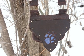 Tracking wolf Hunting Pouch